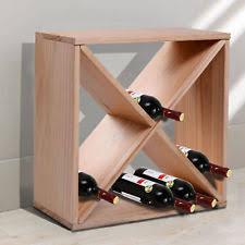 aosom homcom classic rustic wood 8 tier 120 bottle wooden wine