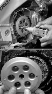 hands on how to change out a motorcycle clutch sport rider