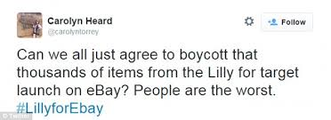 target does poor job on black friday boycott lilly pulitzer u0027s own daughter was too late to buy sold out target