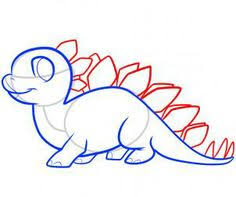 cute stegosaurus coloring pages draw stegosaurus