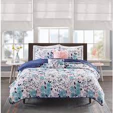 Tiffany Blue Comforter Sets Intelligent Design Tiffany Blue 5 Piece Comforter Set Free