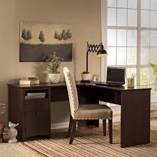 L Shaped Desk On Sale by Workspace Bush Furniture Corner Desk For Elegant Office Furniture