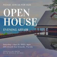 open house invitation photo open house invitation templates by canva