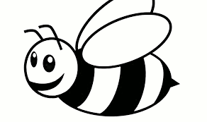 bee coloring pages for toddler coloringstar