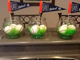 baseball centerpieces baseball themed centerpiece centerpiece inspirations