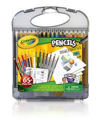 amazon com crayola pencil design and sketch kit toys u0026 games