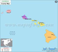 map of hawaii cities hawaii county map hawaii counties list
