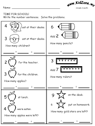 grade 1 math word problems worksheets math activity worksheets