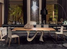 Dining Tables With Marble Tops Marble Top Dining Table Wave By Tonin Casa