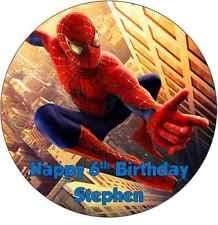 Spiderman Birthday Party Cakes Ebay