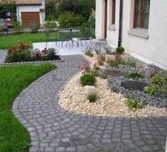 Ideen Mit Steinen Vorgartengestaltung Mit Kies U2013 15 Vorgarten Ideen U2013 Motelindio Info