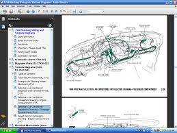 fordmanuals com 1968 colorized mustang wiring diagrams ebook