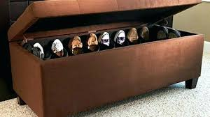 shoe storage ottoman bench marvelous shoe storage ottoman bench various furniture awesome woven