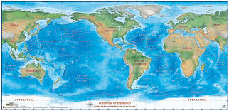 map with oceans map