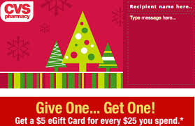 5 gift cards cvs gift cards 5 free gift card wyb 25 card southern savers