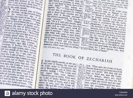 the first page of the book of zechariah in the revised standard