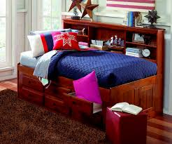 merlot twin size bookcase captain u0027s day bed day beds discovery