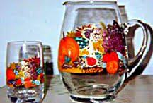 clearly susan custom painted glassware and wine glasses