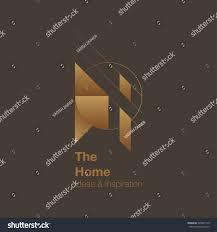 home interior logo design vector logo stock vector 549831139