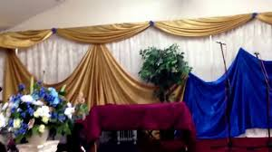 church decorations church decor wall draping