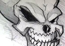 sketching a skull head in pencil draw a skull step by step youtube