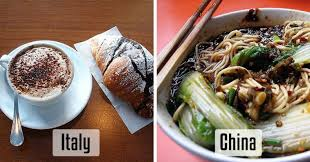 this is how different breakfast looks like around the world