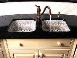 paint kitchen sink black twin sinks mexican style