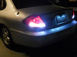 2014 ford taurus tail light tail light modifications completed taurus car club of america