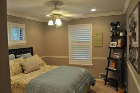 Chandelier In Master Bedroom Sleek Brass Master Bedroom Lighting Idea Using Recessed Lamp Also
