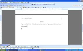 Apa Format Cover Page Example by How To Do Apa Format In Word Thebridgesummit Co
