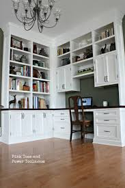 home office with new built in bookcases bookcases for a home