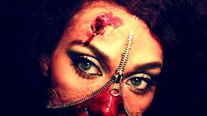 zipper face halloween make up tutorial beauty queen unzipped