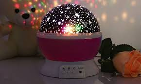 Rotating Night Light Projector Star Projector Night Lamp Groupon