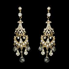 vintage wedding earrings chandeliers 8 chandelier bridal earrings every will