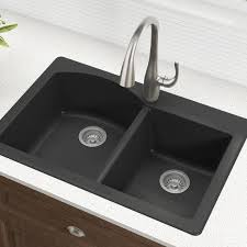 33 x 22 drop in kitchen sink kraus forteza 33 x 22 double basin drop in kitchen sink reviews