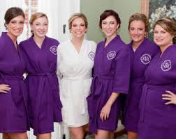 waffle robes for bridesmaids monogram robe bridesmaid robes bridesmaid gift waffle