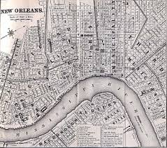 Map New Orleans Fighting For Freedom Free Women Of African Descent In New Orleans
