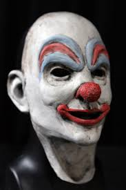 halloween mask clown face mask u2013 retro clown u2013 beyond the grave productions