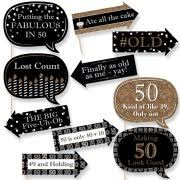 50th birthday party supplies 50th birthday party supplies
