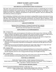 Process Technician Resume Sample by Instrumentation Technician Cover Letter
