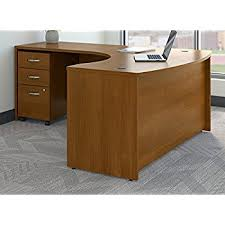 C Shaped Desk Bush Business Furniture Src007aulsu Series C Left