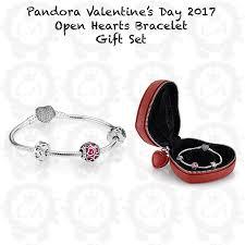 s day bracelet pandora s day 2017 open hearts bracelet gift set