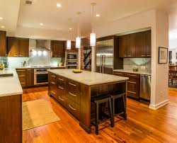 long kitchen island marvelous kitchen with custom cabinets or a