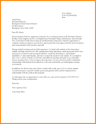college instructor cover letter elegant teacher cover letter
