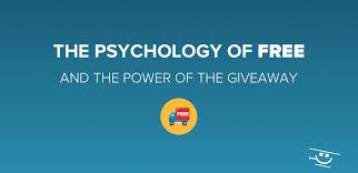 psychology of free giveaways rafflecopter
