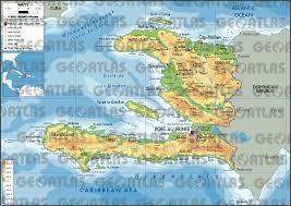 World Map Haiti by Geoatlas Countries Haiti Map City Illustrator Fully