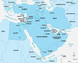 A Map Of The Middle East by Geography Of The Middle East Geography