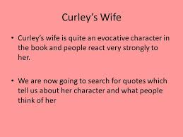 Curley S Quotes Curley S Tart Or Naïve Victim Ppt Video Online
