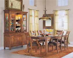 oak dining room sets with hutch