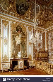 chambre versailles palace of versailles chambre de antoinette stock photo